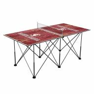 Santa Clara Broncos Pop Up 6' Ping Pong Table