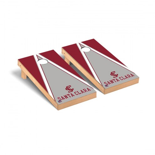 Santa Clara Broncos Triangle Cornhole Game Set