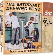 Saturday Evening Post At the Doctor's 1000 Piece Puzzle