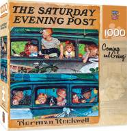 Saturday Evening Post Coming and Going 1000 Piece Puzzle