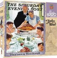 Saturday Evening Post Freedrom from Want 1000 Piece Puzzle