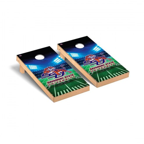 Savannah State Tigers Stadium Cornhole Game Set