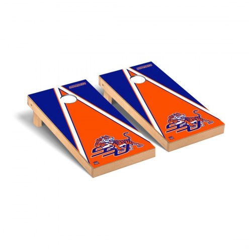 Savannah State Tigers Triangle Cornhole Game Set