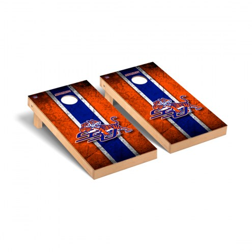 Savannah State Tigers Vintage Cornhole Game Set