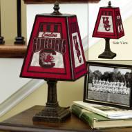 South Carolina Gamecocks NCAA Hand-Painted Art Glass Table Lamp