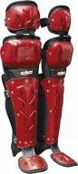 Schutt Air Maxx Scorpion Double Flex Baseball Catcher's Leg Guards