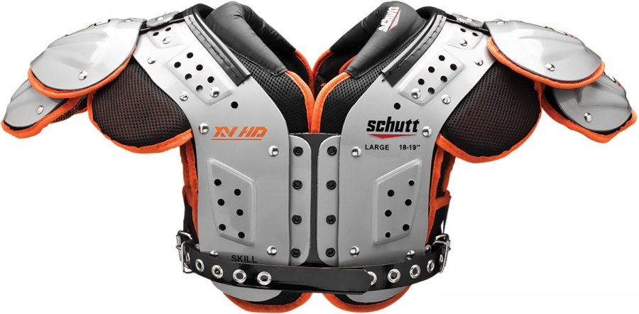 0b418b6e918 Schutt XV HD Adult Football Shoulder Pads - Skill Positions