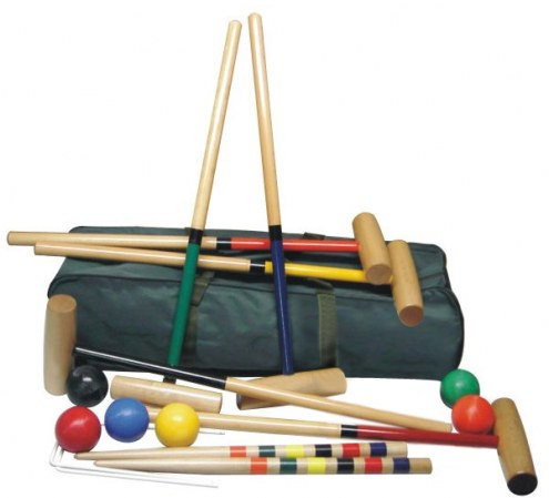 North Meadow Scottsdale 6-Player Croquet Set