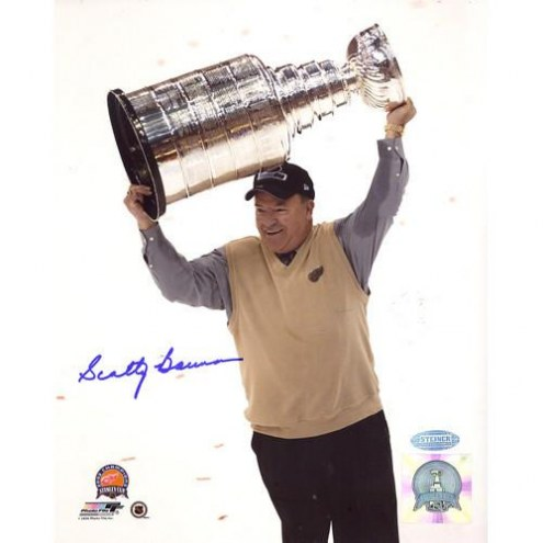 Scotty Bowman Cup Overhead Vertical 8 x 10 Photo