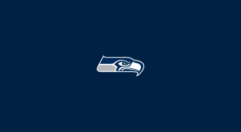 Seattle Seahawks NFL Team Logo Billiard Cloth