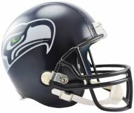 Riddell Seattle Seahawks Deluxe Collectible NFL Football Helmet
