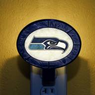 Seattle Seahawks NFL Stained Glass Night Light