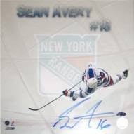 Sean Avery Ice Slab For Ice Collage