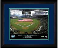 Seattle Mariners 13 x 16 Personalized Framed Stadium Print