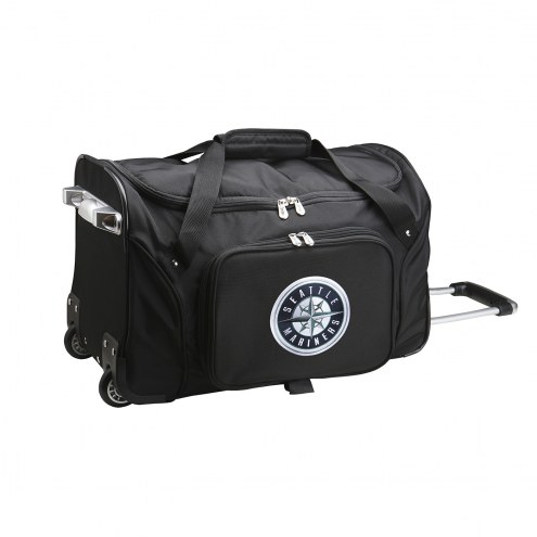 "Seattle Mariners 22"" Rolling Duffle Bag"