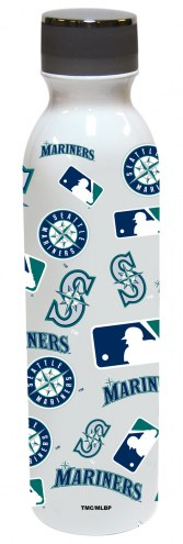 Seattle Mariners 24 oz. Stainless Steel All Over Print Water Bottle