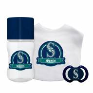 Seattle Mariners 3-Piece Baby Gift Set
