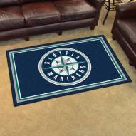 Seattle Mariners 4' x 6' Area Rug