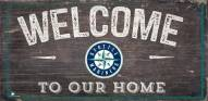 """Seattle Mariners 6"""" x 12"""" Welcome Sign"""