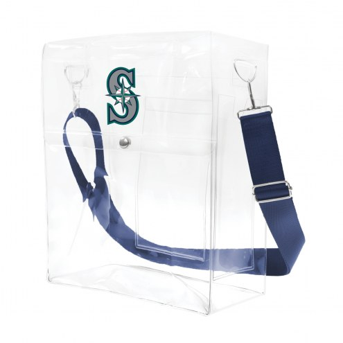 Seattle Mariners Clear Ticket Satchel