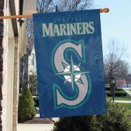 Seattle Mariners Applique 2-Sided Banner Flag