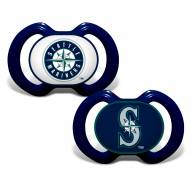 Seattle Mariners Baby Pacifier 2-Pack