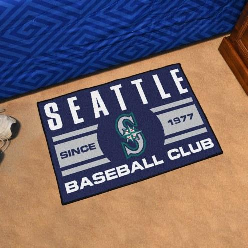 Seattle Mariners Baseball Club Starter Rug