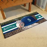 Seattle Mariners Baseball Runner Rug
