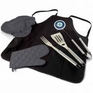 Seattle Mariners BBQ Apron Tote Set