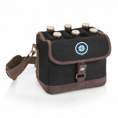 Seattle Mariners Beer Caddy Cooler Tote with Opener