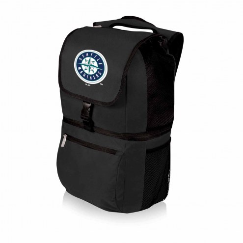 Seattle Mariners Black Zuma Cooler Backpack