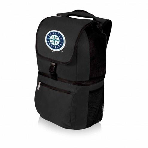 Seattle Mariners Black Zuma Cooler Backpack