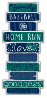 Seattle Mariners Celebrations Stack Sign