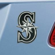 Seattle Mariners Chrome Metal Car Emblem