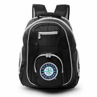 MLB Seattle Mariners Colored Trim Premium Laptop Backpack
