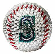 Seattle Mariners Swarovski Crystal Baseball