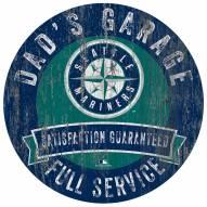 Seattle Mariners Dad's Garage Sign
