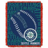 Seattle Mariners Double Play Jacquard Throw Blanket