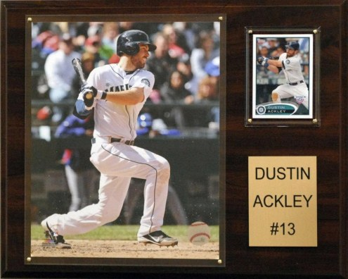 "Seattle Mariners Dustin Ackley 12"" x 15"" Player Plaque"