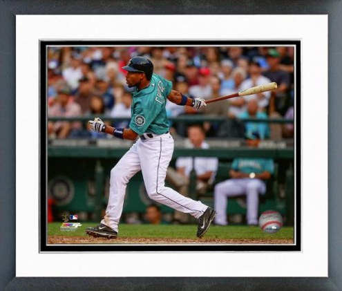 Seattle Mariners Endy Chavez Action Framed Photo