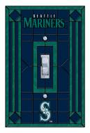 Seattle Mariners Glass Single Light Switch Plate Cover