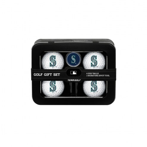 Seattle Mariners Golf Ball & Divot Tool Gift Set