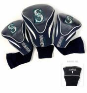 Seattle Mariners Golf Headcovers - 3 Pack