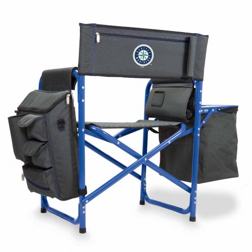 Seattle Mariners Gray/Blue Fusion Folding Chair