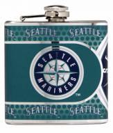 Seattle Mariners Hi-Def Stainless Steel Flask