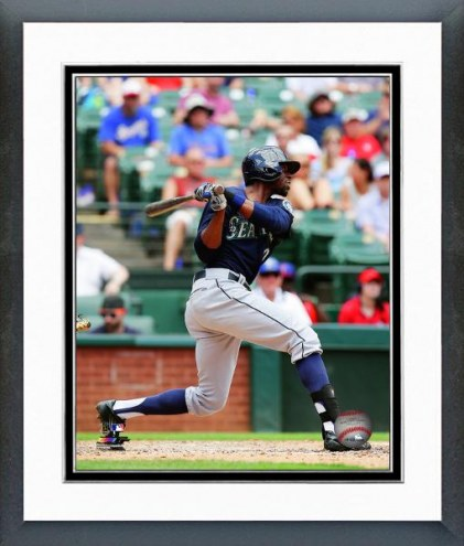 Seattle Mariners James Jones Action Framed Photo