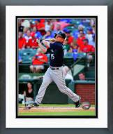 Seattle Mariners Kyle Seager Action Framed Photo
