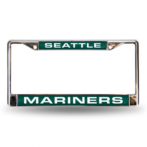Seattle Mariners Laser Chrome License Plate Frame