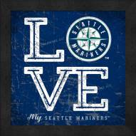 Seattle Mariners Love My Team Color Wall Decor