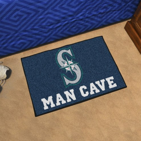 Seattle Mariners Man Cave Starter Mat